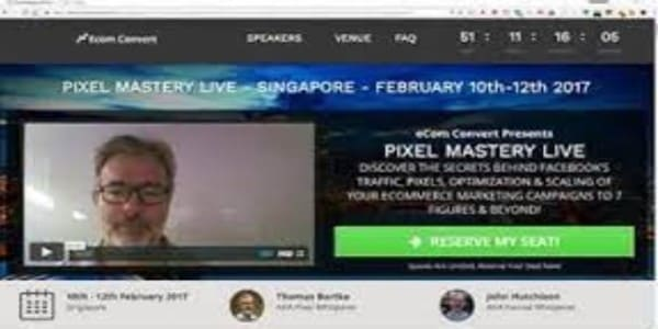 only $140, Facebook Pixel Mastery Live Event