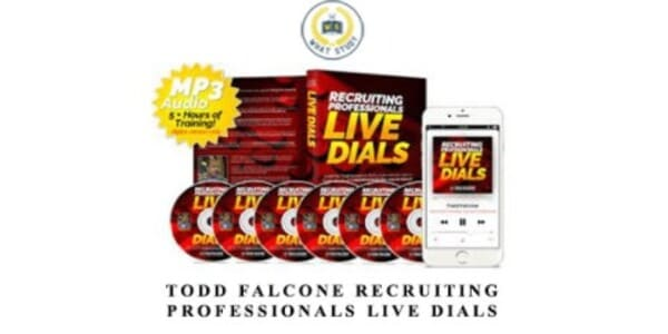 only $81, Recruiting Pros LIVE DIALS Webinar Training – Todd Falcone