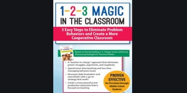 1-2-3 Magic in the Classroom: 3 Easy Steps to Eliminate Problem Behaviors and Create a More Cooperative Classroom - Sarah Jane Schonour