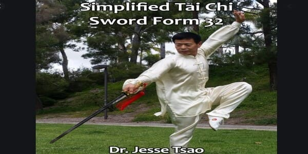 only $32, Simplified Tai Chi Sword Form 32 - Jesse Tsao