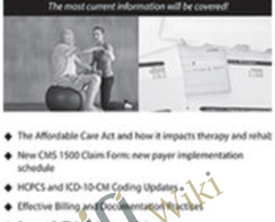 2018 Coding and Billing for Therapy and Rehab - Sherry Marchand, CPMA