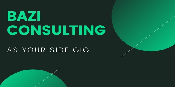 Only $297, BAZI CONSULTING AS YOUR SIDE GIG - JOEY YAP'S