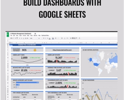 Build Dashboards With Google Sheets – Ben Collins