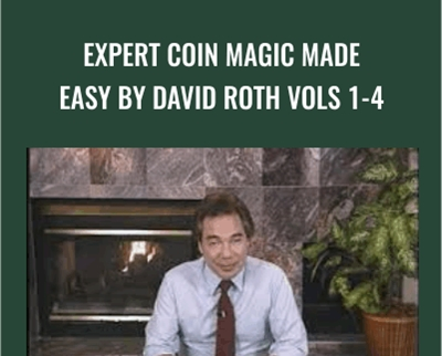 Expert Coin Magic Made Easy by David Roth vols 1-4
