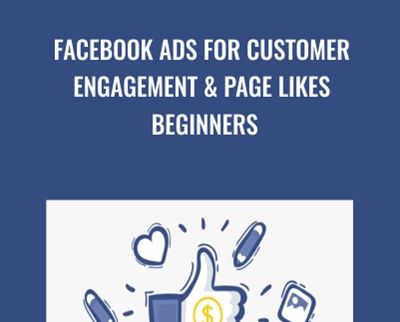 Facebook Ads For Customer Engagement and page likes Beginners