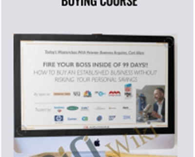 No Money Down Business Buying Course - Carl Allen
