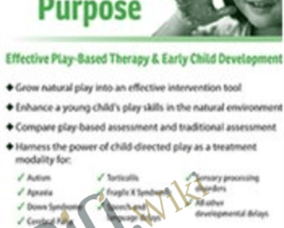 Play with a Purpose: Effective Play-Based Therapy and Early Child Development - Cari Ebert