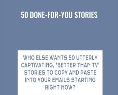 50 Done-for-You Stories - Bill Mueller
