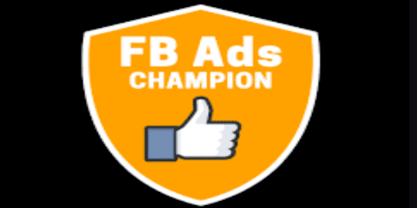 Only $37, FB Ads Champion